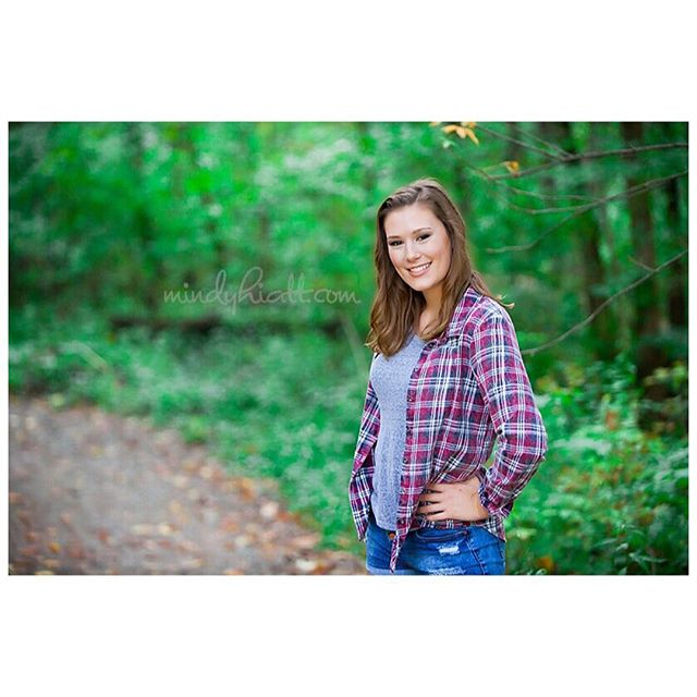 The beautiful @megan__graves !!! #seniorsunday
