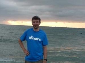Classic Blue Dangers T-Shirt