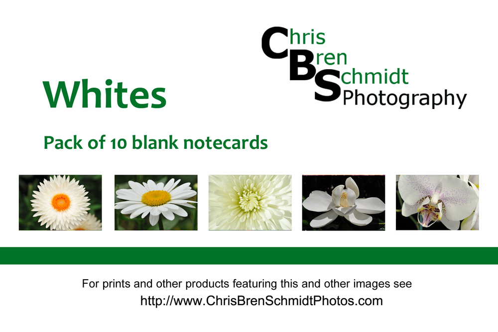 Whites Notecards
