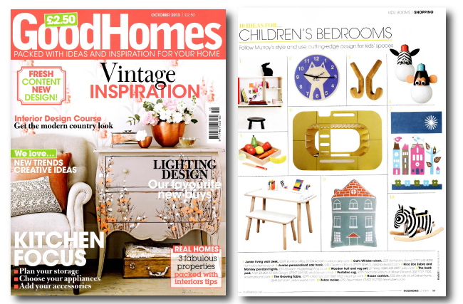 Good Homes UK Oct 2013