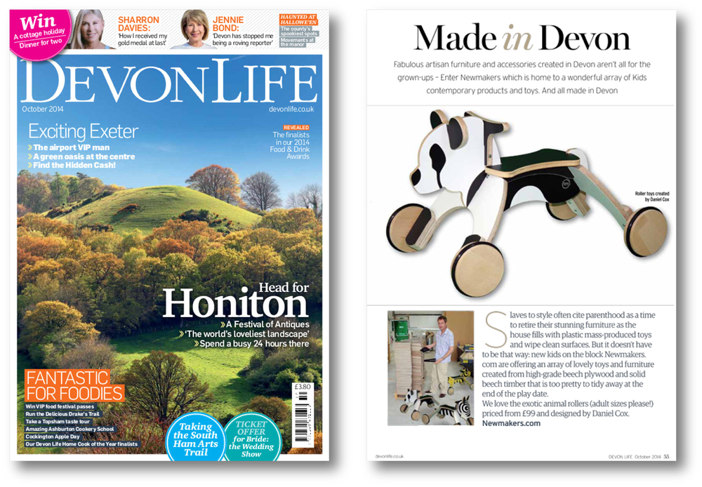 Devon Life UK Oct 2014