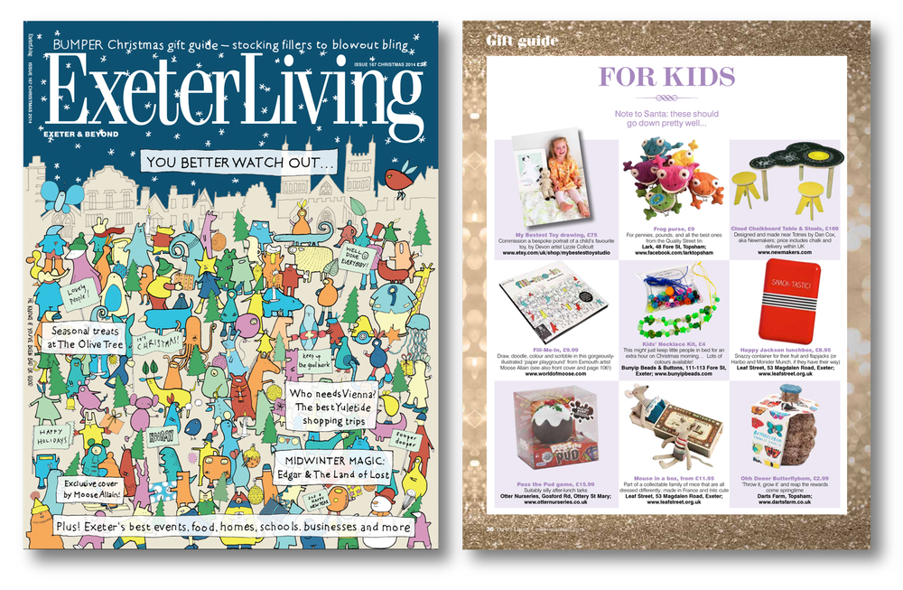 Exeter Living. Dec 2014. UK