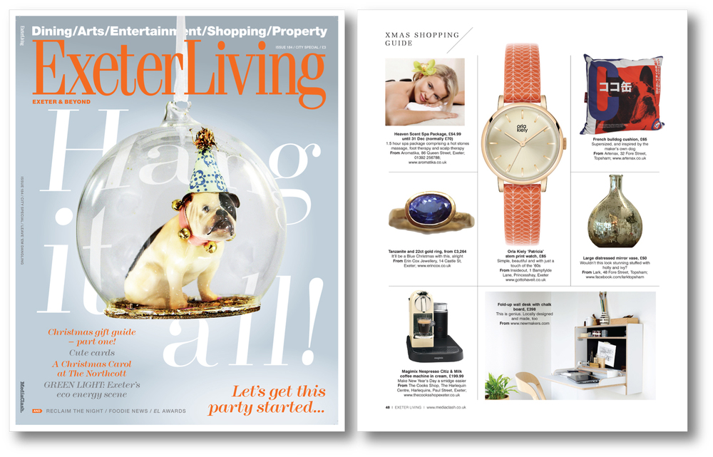 Exeter Living  Dec 2015  UK