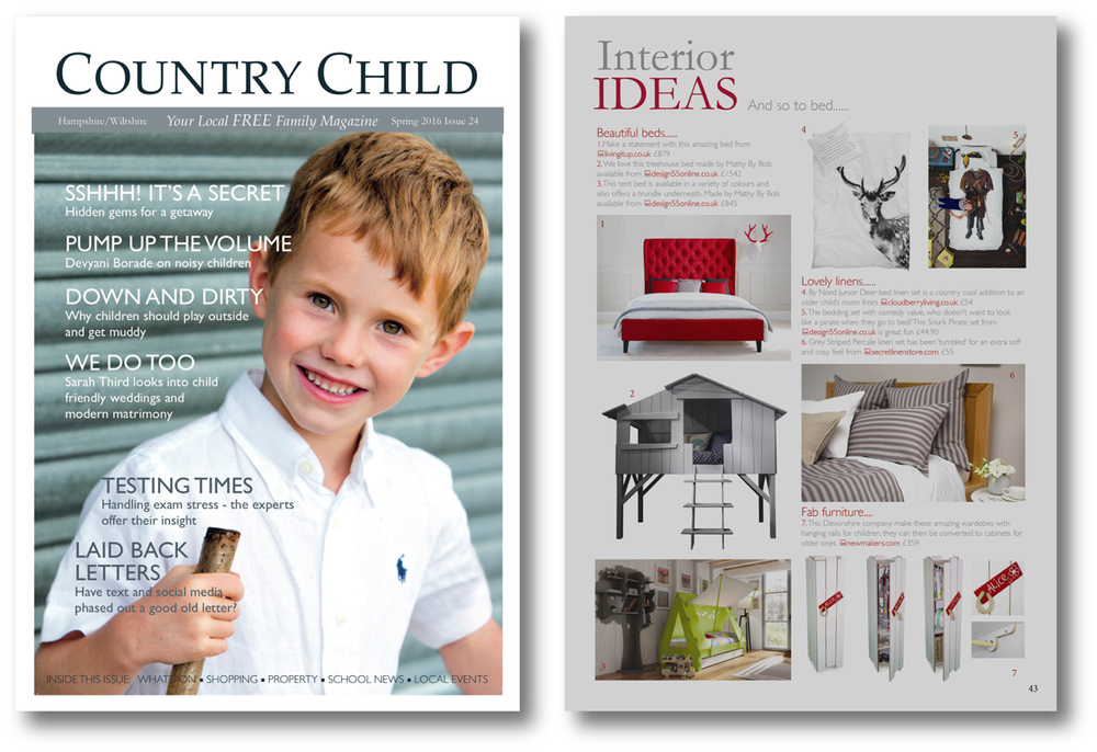 Country Child  March  2016  UK