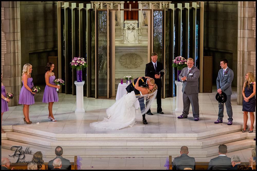 011-provincial_house_chapel-church-saint_louis-mo-wedding-bride-groom-ceremony-military-uniform-first_kiss-dip-purple.jpg