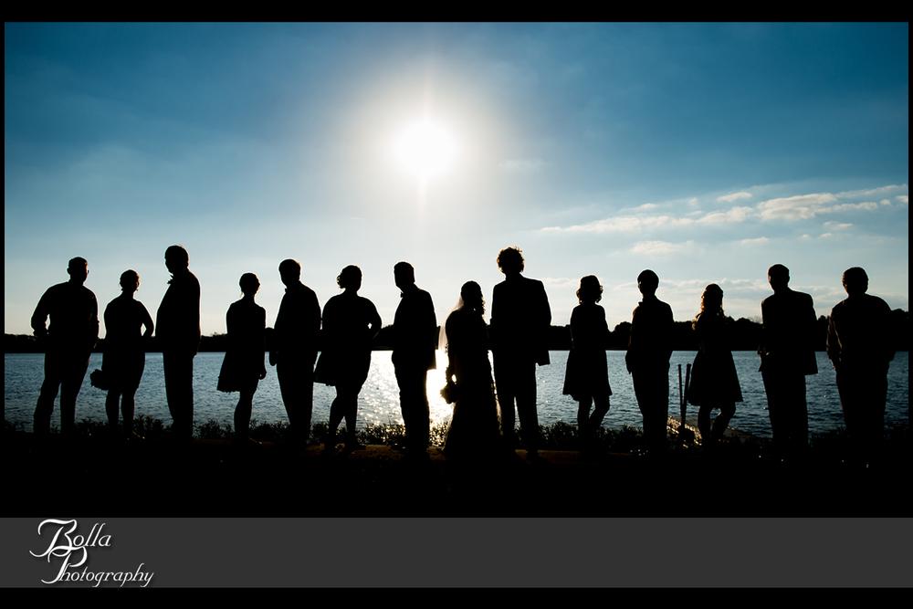 009_Bolla_Photography-fall-wedding-outdoor-portraits-bride-groom-bridal_party-bridesmaids-groomsmen-Silver_Lake_Park-blue_sky-silohuettes-lake-Highland-Kuhl.jpg