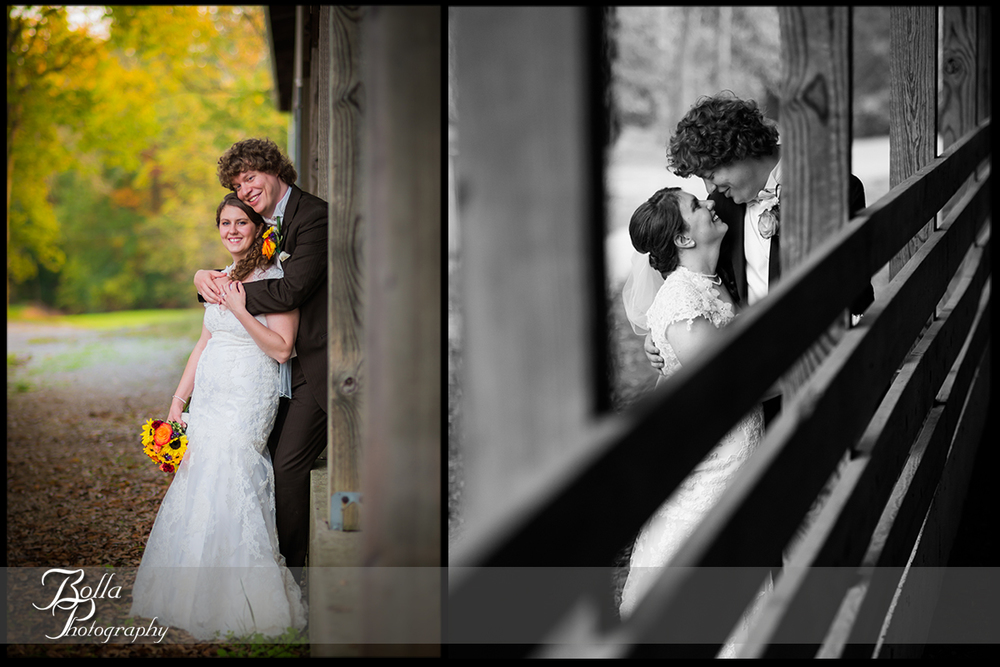 011_Bolla_Photography-fall-wedding-outdoor-portraits-bride-groom-Lindendale_Park-barn-green-orange-yellow-brown-b&w-Highland-Kuhl.jpg