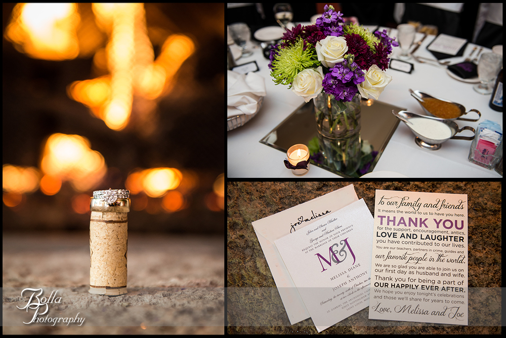 015-Bolla-Photography-wedding-Saint-Louis-MO-STL-forest-park-golf-club-reception-details-rings-cork-purple-flowers-centerpiece-table-invitation-menu-Peters.jpg