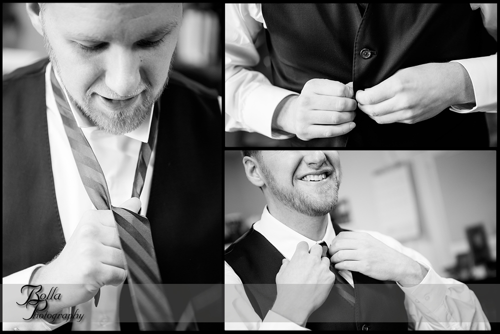005-Bolla-Photography-Saint-Louis-wedding-photographer-McKendree-Bothwell-Chapel-Lebanon-IL-ceremony-Regency-OFallon-IL-reception-groom-preparations-suit-tie-vest-buttons-collar-details-McClain.jpg