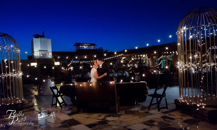 Ashlie Nick The Rooftop Reception Bolla Photography St Louis