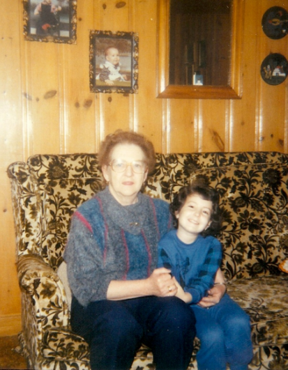 Moi et ma grand-maman d'amour