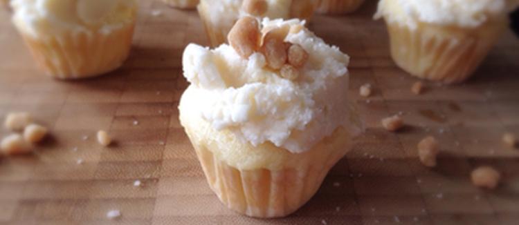 Bouchées de gâteau à la tire d'érable et à la fleur de sel