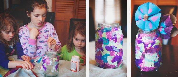 Réalisation du vase