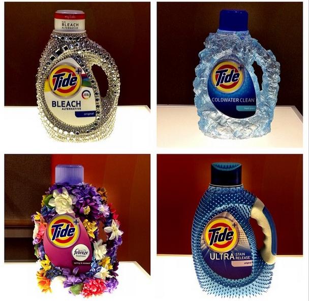 Coup de coeur pour les emballages promos de la nouvelle collection Tide (vu à Cincinnati).