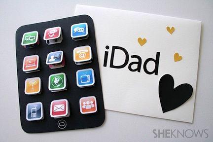 idee pour la fete des peres Carte pour la fête des Pères : 10 idées — Je suis une maman idee pour la fete des peres