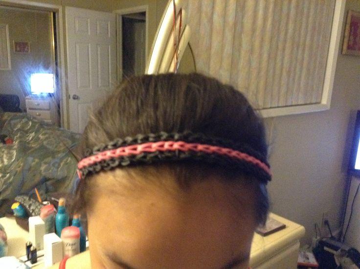 Une passe pour les cheveux