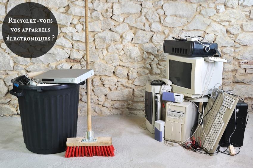 recyclage appareil électronique
