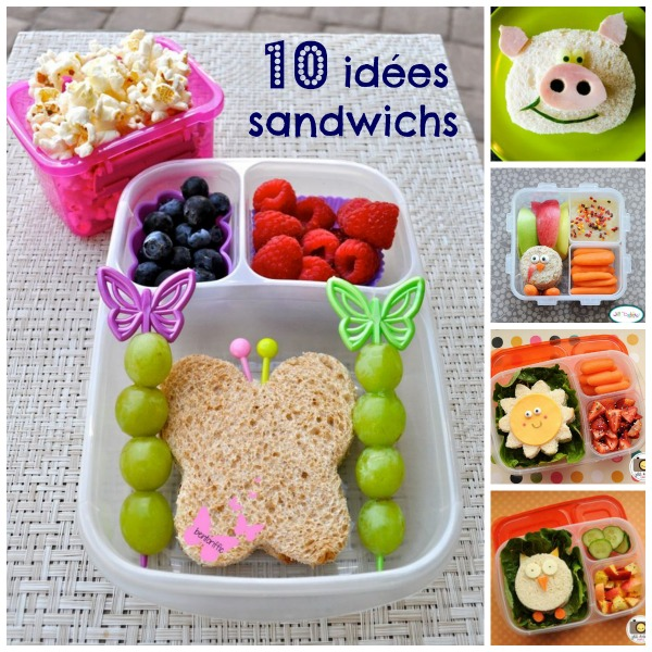Dix Id Es Sandwichs Simples Qui Feront Sourire Vos Enfants Je Suis Une Maman