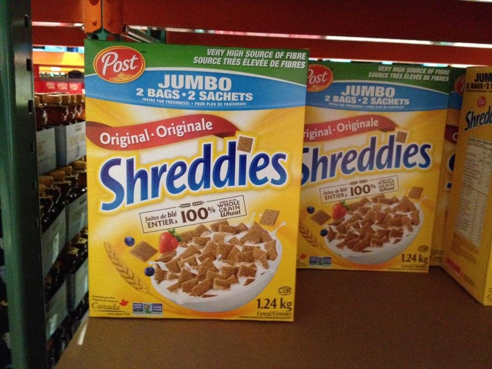 Céréales Shreddies