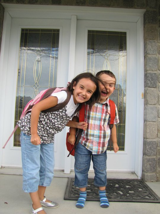 Mes enfants : rentrée scolaire 2010