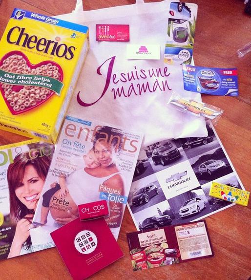 Crédit photo : Annic sur Instagram Une mère, heureuse, après le rassemblement a partagé ceci sur Instagram : le contenu de son sac-cadeau !
