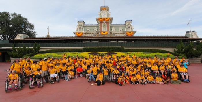 Tous les enfants à Walt Disney World.