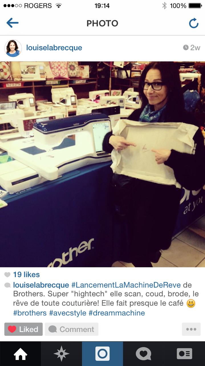 Instagram Louise Labrecque