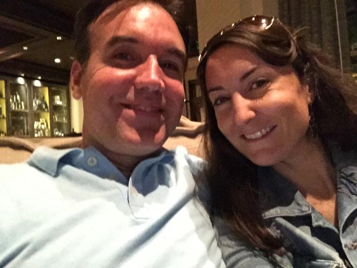 Petit selfie après notre délicieux souper au restaurant  Highball & Harvest .