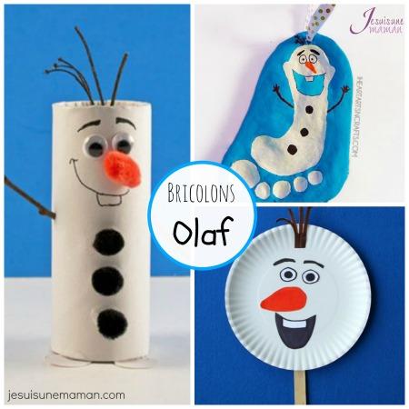 Des bricolages olaf reine des neiges je suis une maman - Olafe la reine des neiges ...