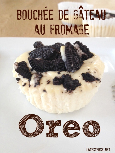 Gâteau fromage oreo