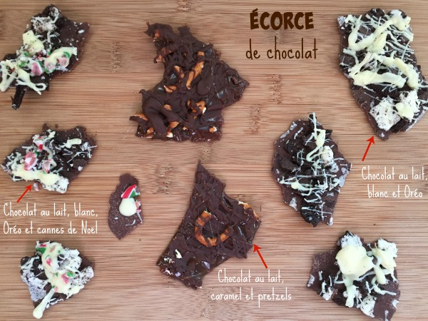 Écorce de chocolat