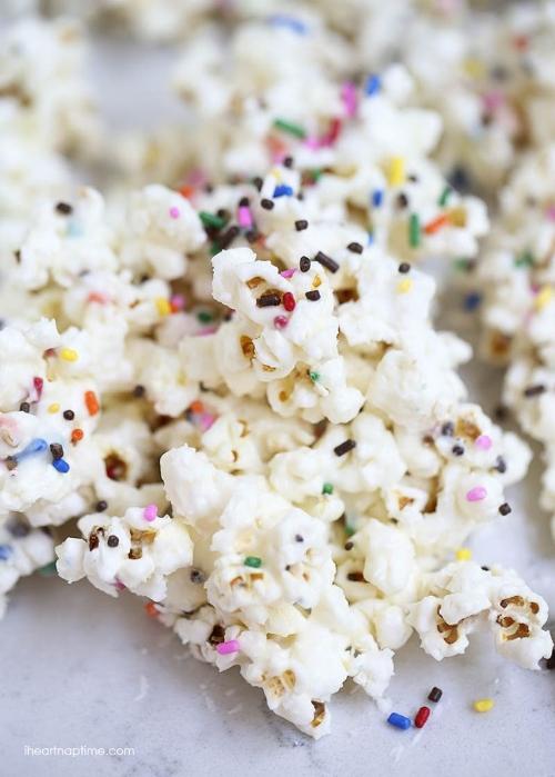 popcorn sucré salé