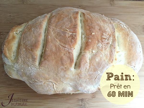 Notre merveilleux et délicieux pain !