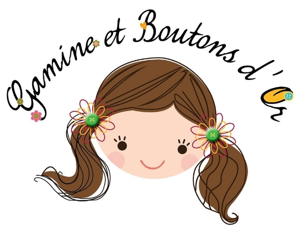 Gamine et boutons d'or