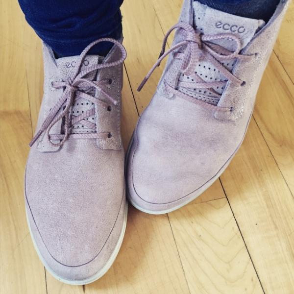 Mes nouveaux souliers !