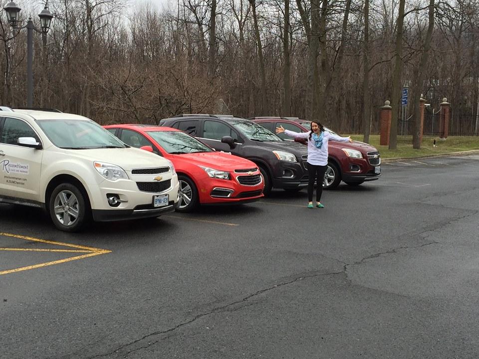 Merci Chevrolet pour les voitures à l'effigie JSUM !