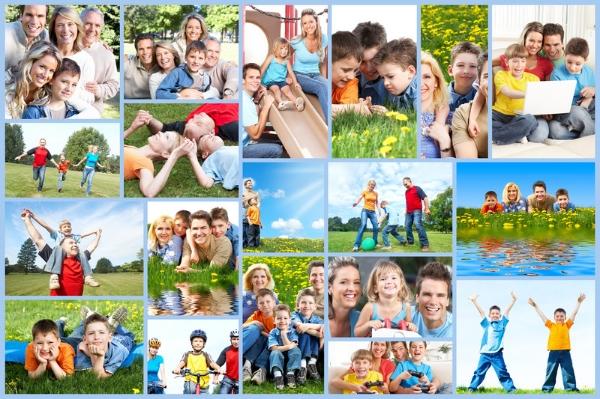 Фотоальбом Наша семья 100 фото 10 х 15 см  Купить в
