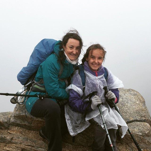 Photo prise au mont Lafayette dans les nuages !