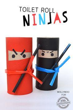 Des ninjas