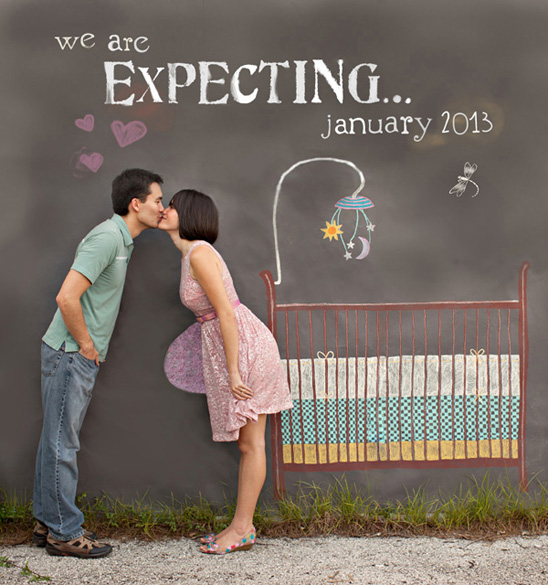 Source : Cute Pregnancy announcement