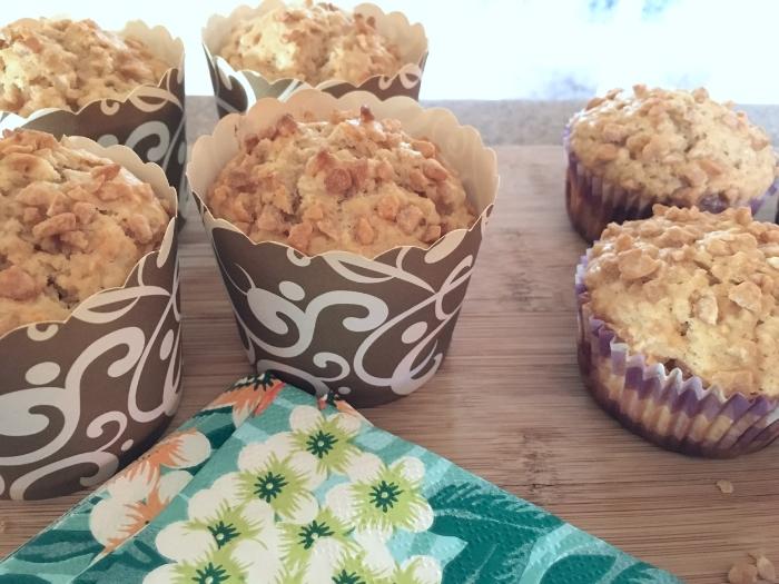 Muffins à l'érable