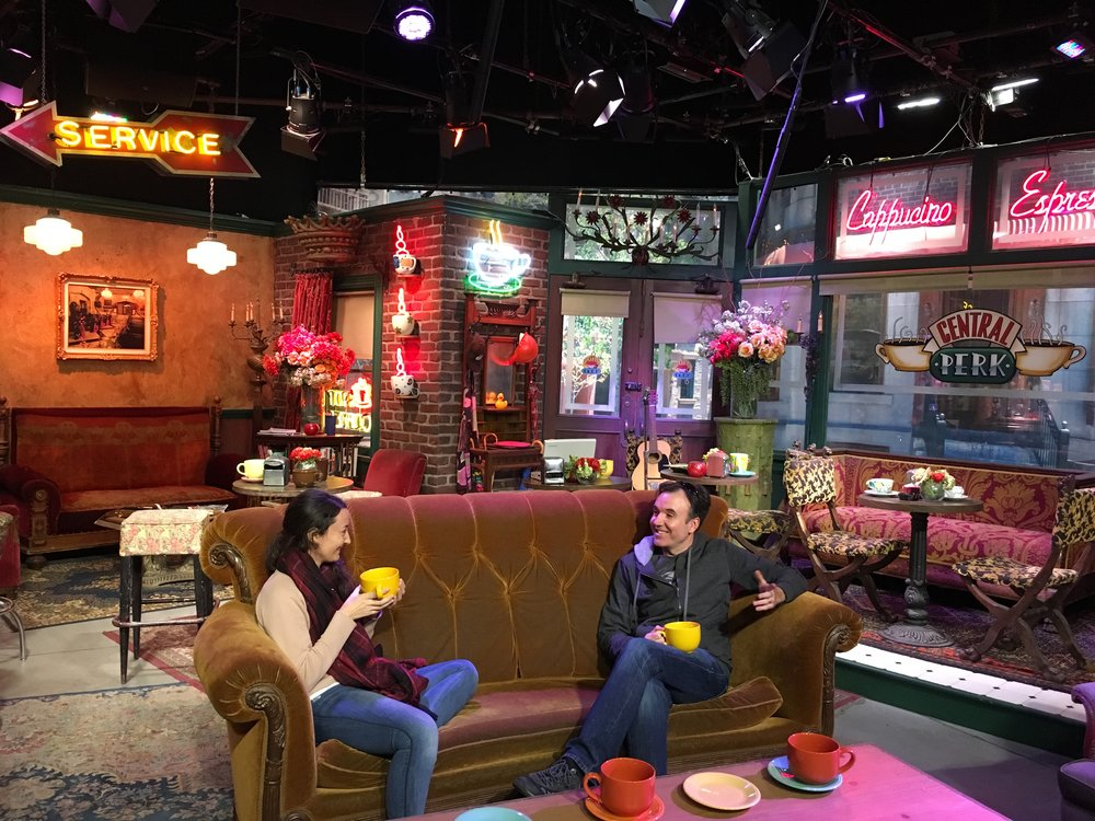 Crédit photo : Jaime Damak Warners Brothers Tour : allooooo set de Friends !