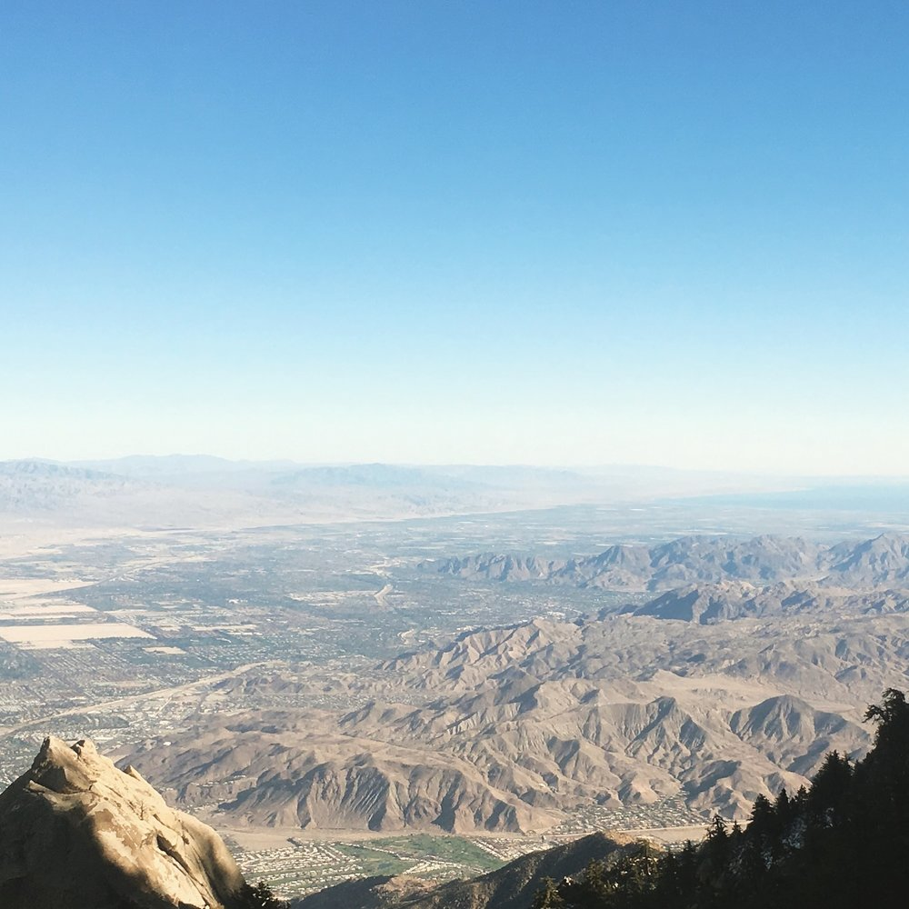 Crédit photo : Jaime Damak Palm Springs Aerial Tramway
