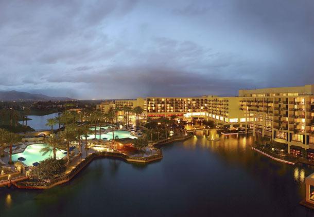 Photo Credit : JW Marriott Desert Springs Exterior view at night