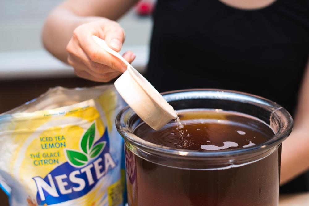 Popsicle au thé glacé Nestea