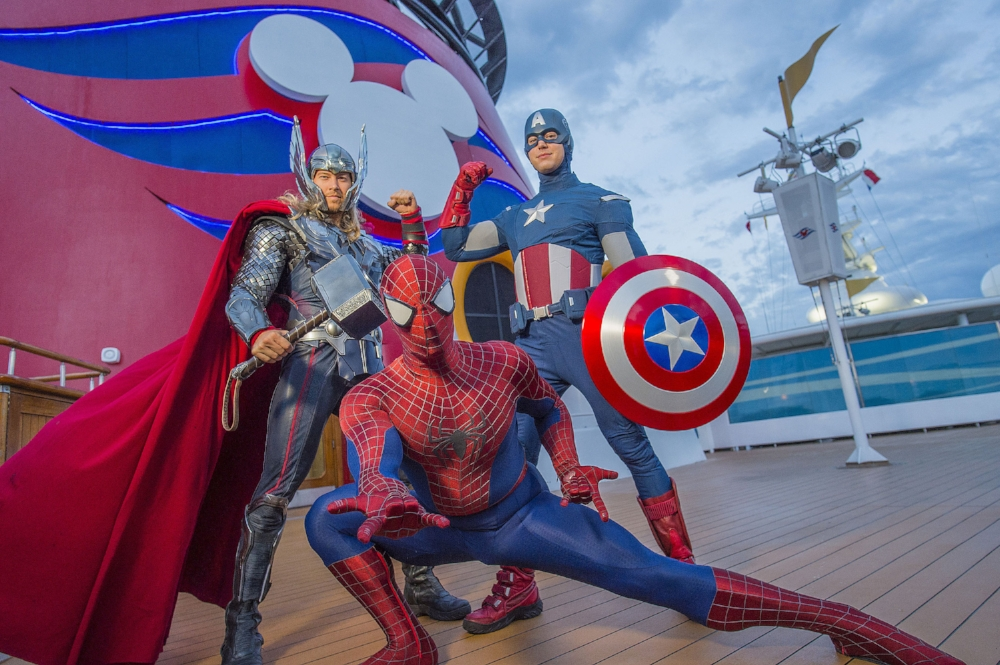 The Marvel day at the sea  photo : Chloe Rice, pour Disney