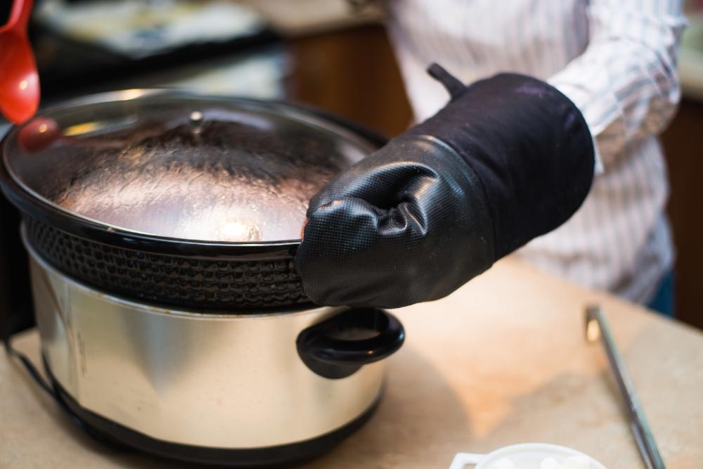 crockpot chocolat chaud