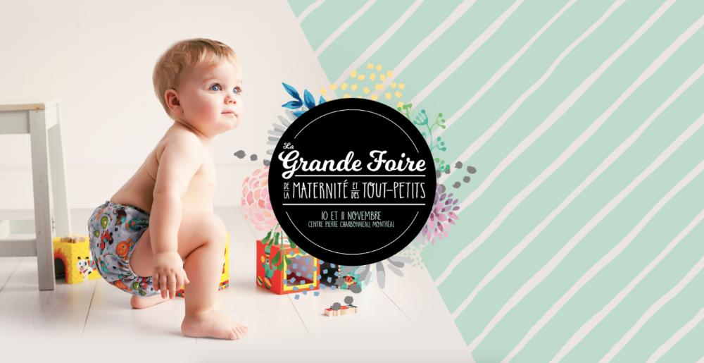 Photo : gracieuseté de la Grande Foire de la maternité et des tout-petits
