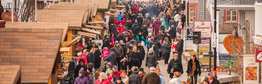 Crédit photo :  Marché de Noël de Baie-Saint-Paul