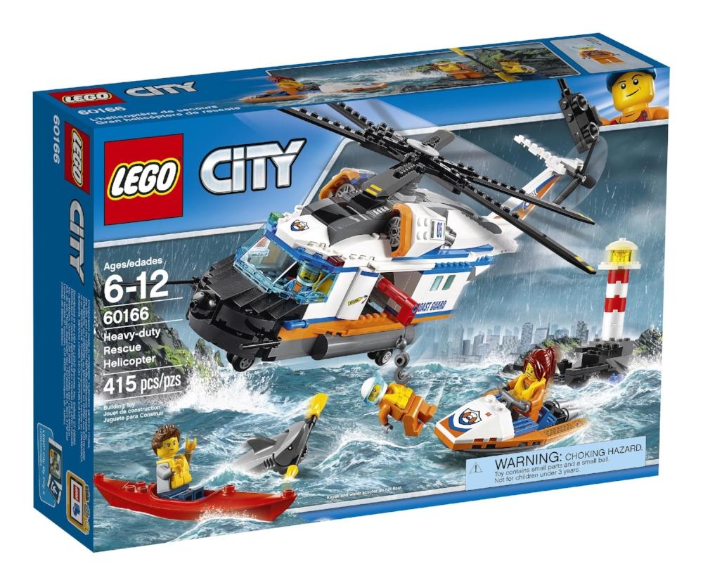 LEGO City, L'hélicoptère de secours , paq. 415